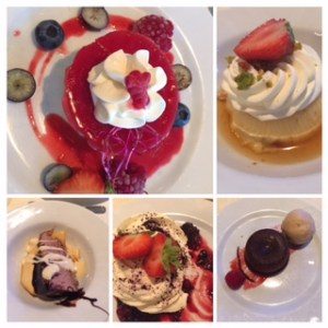 best desserts i have ever eaten...and not super sweet!