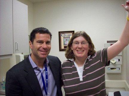 Amanda Meyers and Dr. Cole