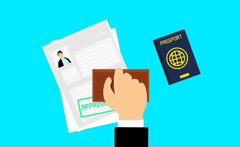 How to process the working visas?