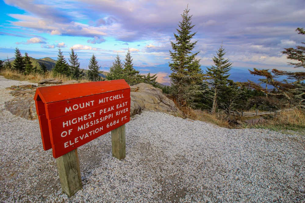 Mount Mitchell near Asheville