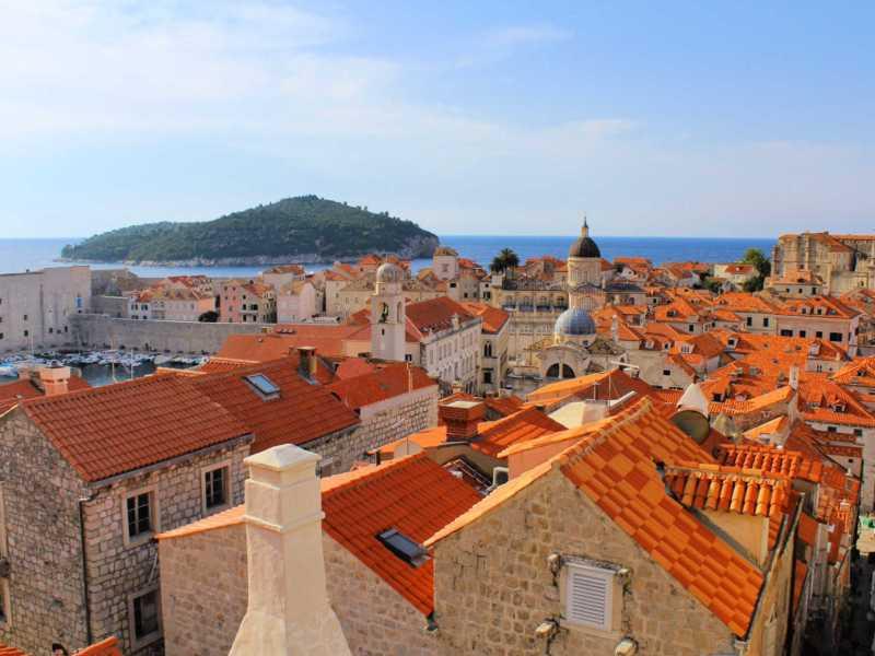 Dubrovnik Orange roofs
