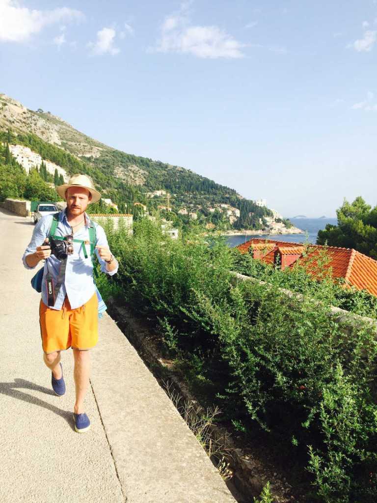 Walking through Dubrovnik