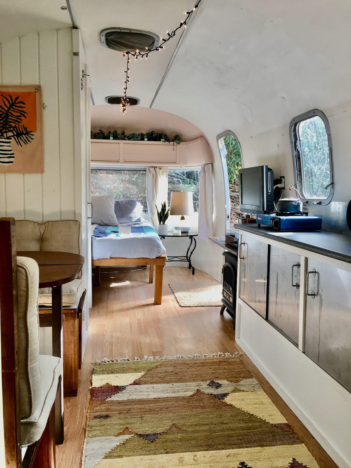 asheville airbnbs bohemian airstream