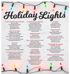 2018 Holiday lights in Phoenix