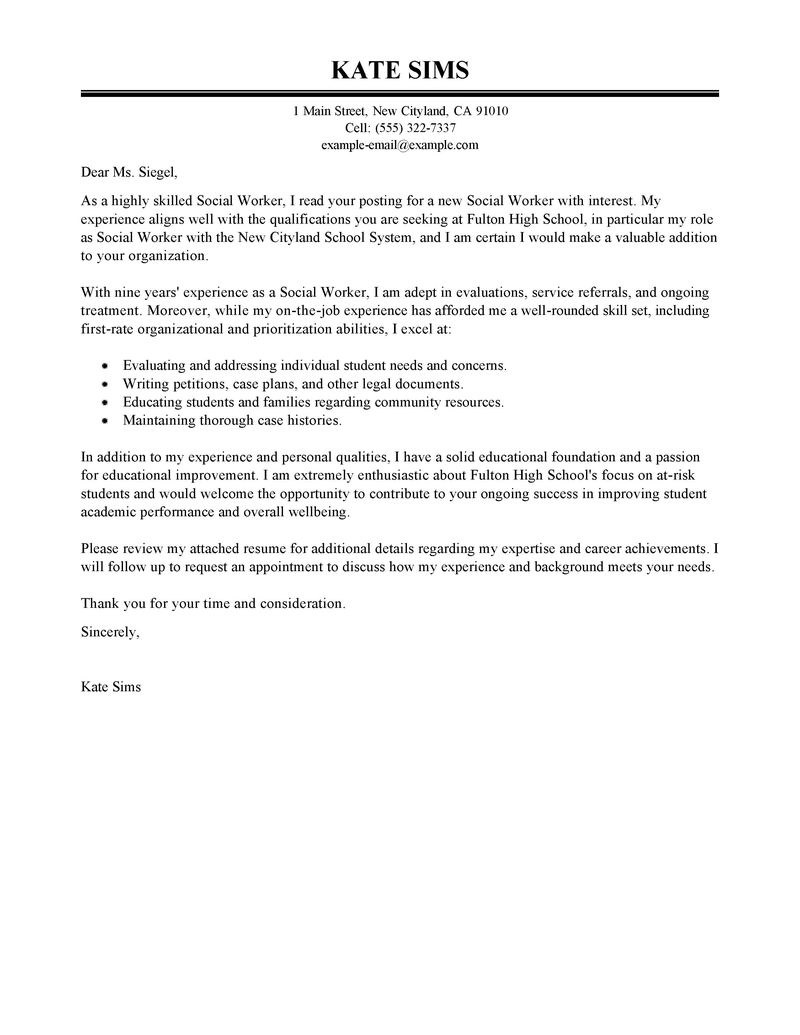 Cover Letter School Counselor Gallery - Cover Letter Ideas
