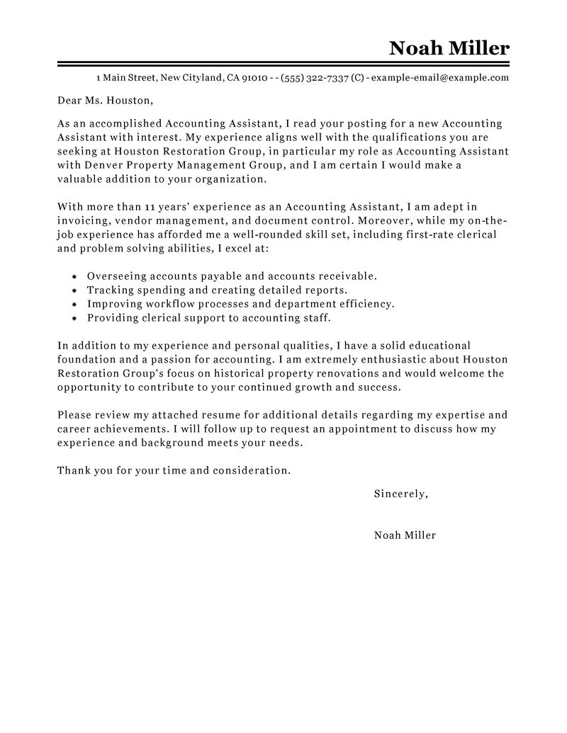 Payroll Accountant Resume Examples. to apply for a junior accountant ...