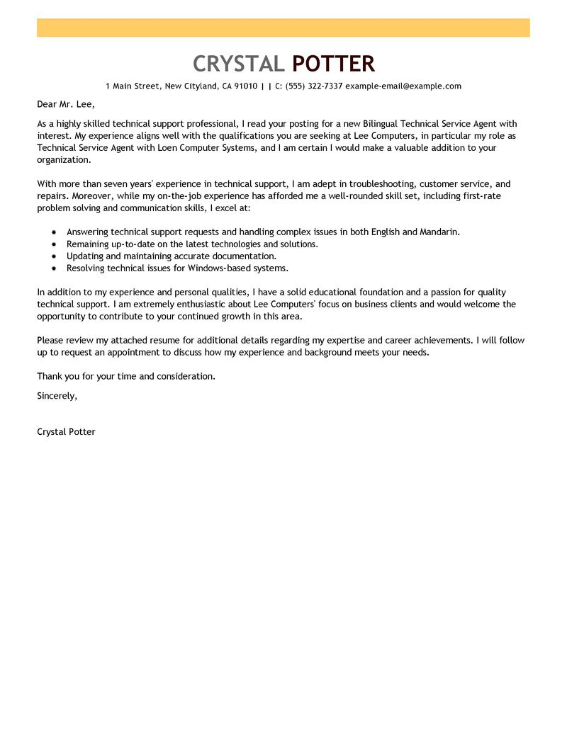 Guest Service Agent Cover Letter Choice Image - Cover Letter Ideas