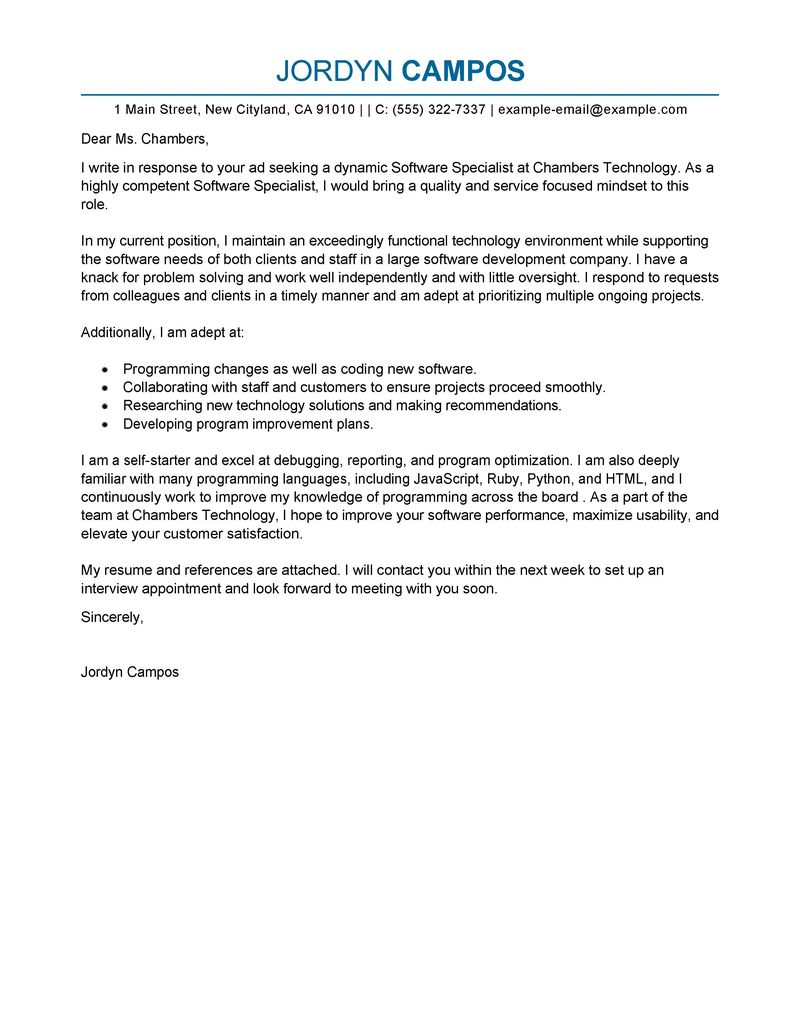 cover letter email sample for resume project manager cv sample