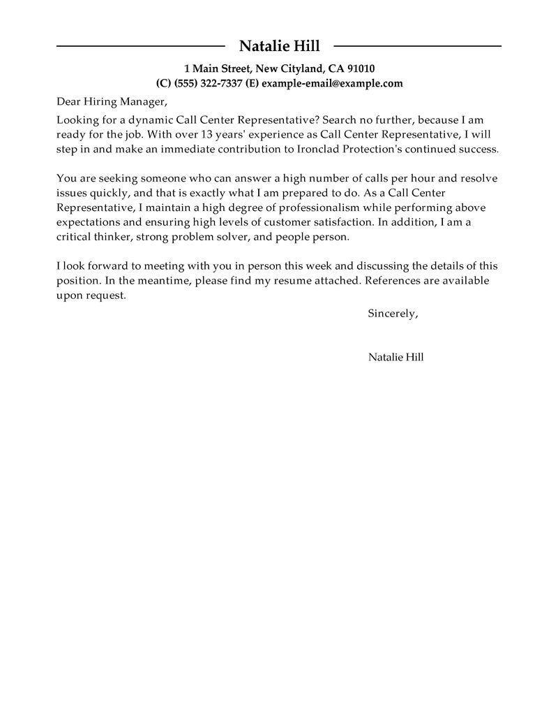 Resume Cover Letter For Customer Service Position. resume best ...