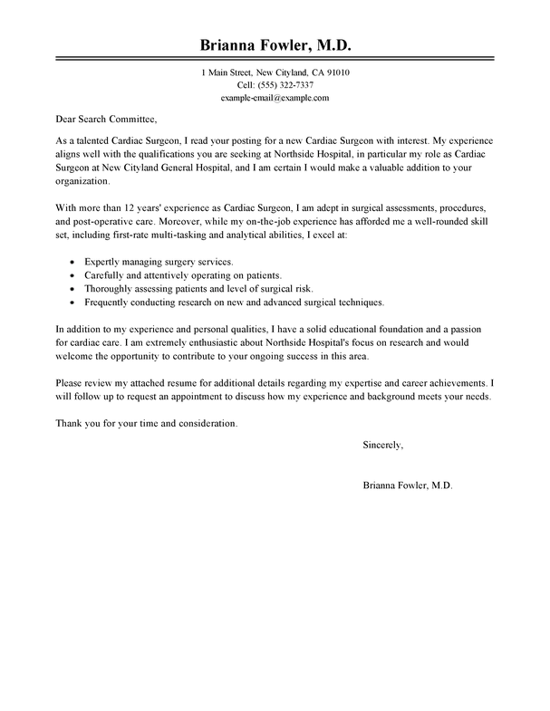 Cover Letter For Internship In Finance Financial S