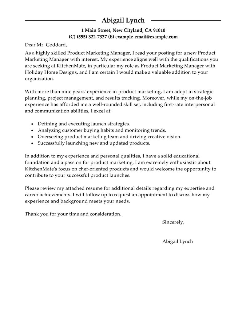 Sample Cover Letter For Marketing Coordinator Images - Cover ...