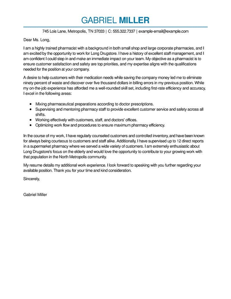 procurement cover letter