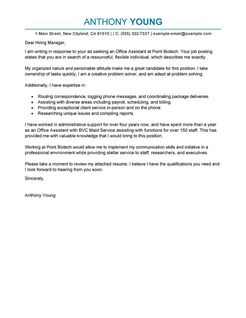 free cover letter examples samples for all jobseekers livecareer