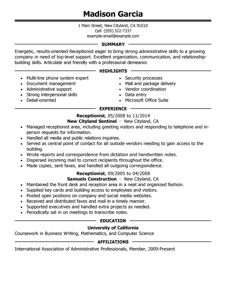 One Employer Resume Examples. It S A Given Fact That Today S