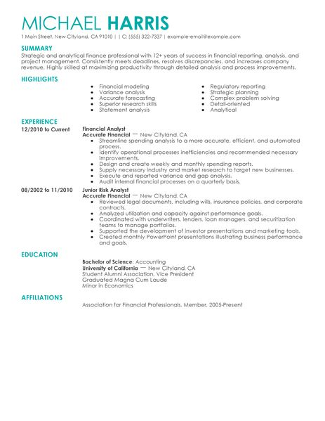 Finance Resume Skills. Level Finance Resume Samples Resume