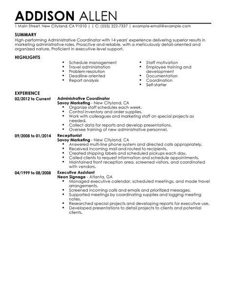 Sample Resume Administrative Assistant Skills. Sample Advertising