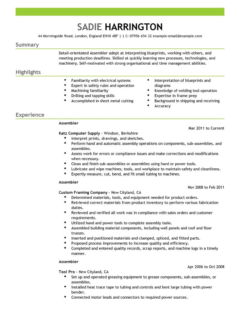 Lovely Line Cook Line Cook Resume Sample Assembly Line Resume Sample Yazh Co Cover  Letter Examples For