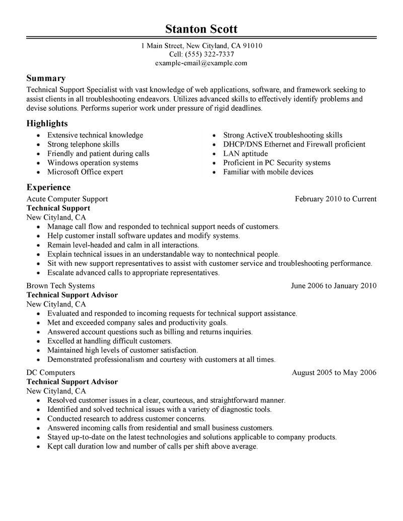 Resume For Automotive Service Advisor