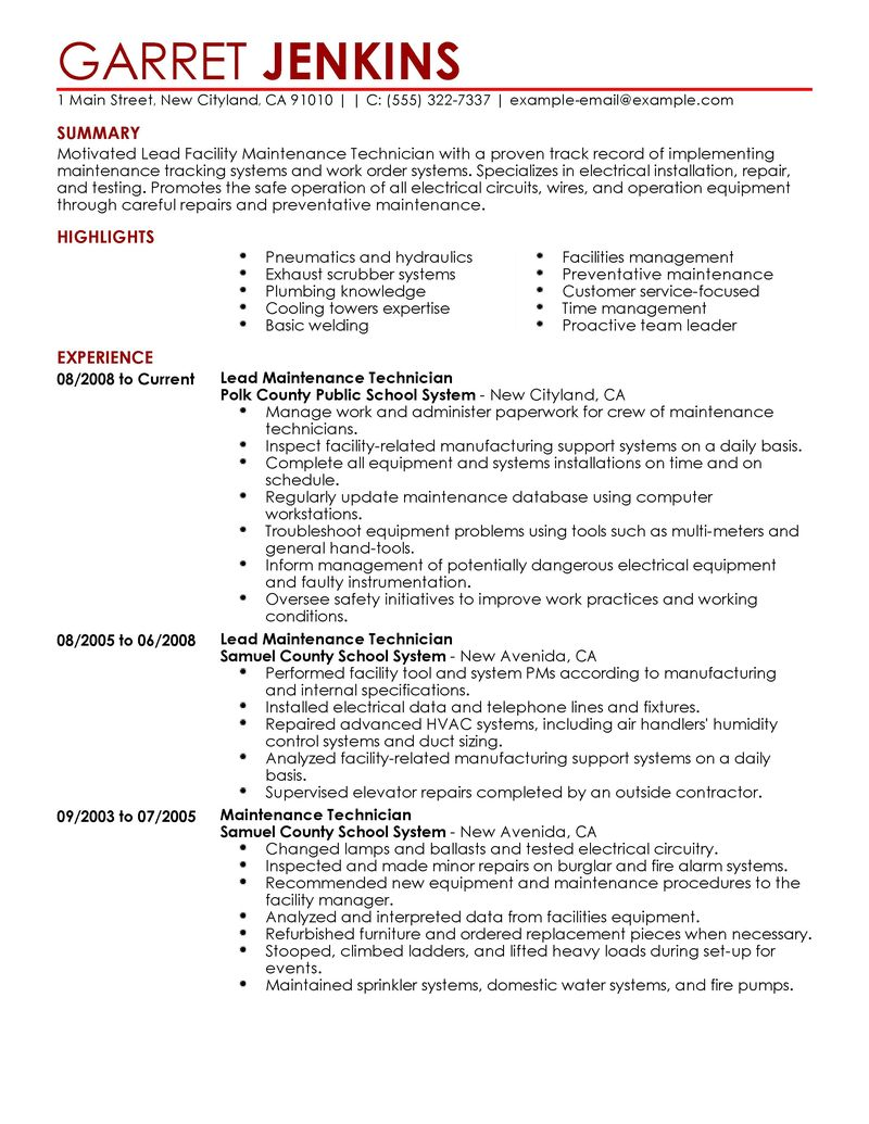 Facility Engineer Resume. construction engineer resume resume ...