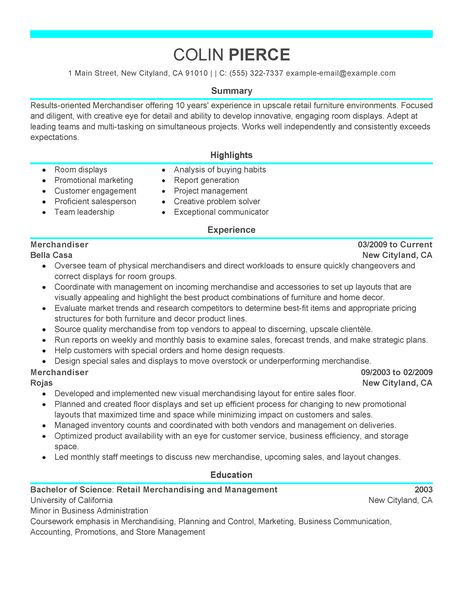 Sales Representative Resume Example, Job Descriptions.