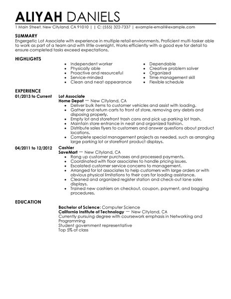 Basic Job Resumes Examples. Examples Basic Job Resume Resume