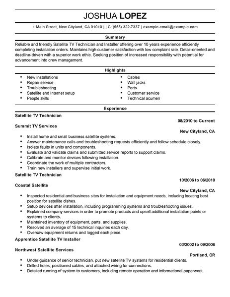 Professional Customer Service Resume Examples. . Resume For