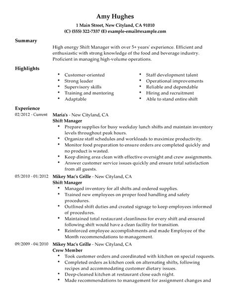 Sample Retail Resumes Examples. 12 Great Sample Retail Resume