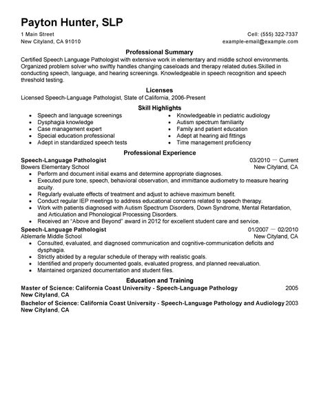 pathologist resume examples healthcare resume examples livecareer