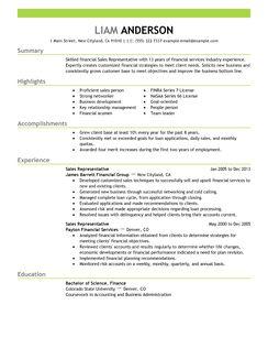 best sales representative resume example livecareer