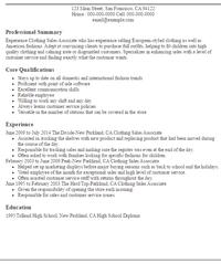 resume of sales associate s associate resume templates template