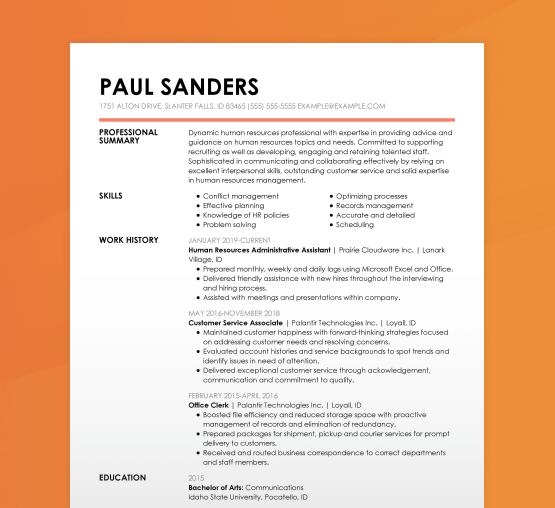 How To Write A Resume Resume Writing Livecareer