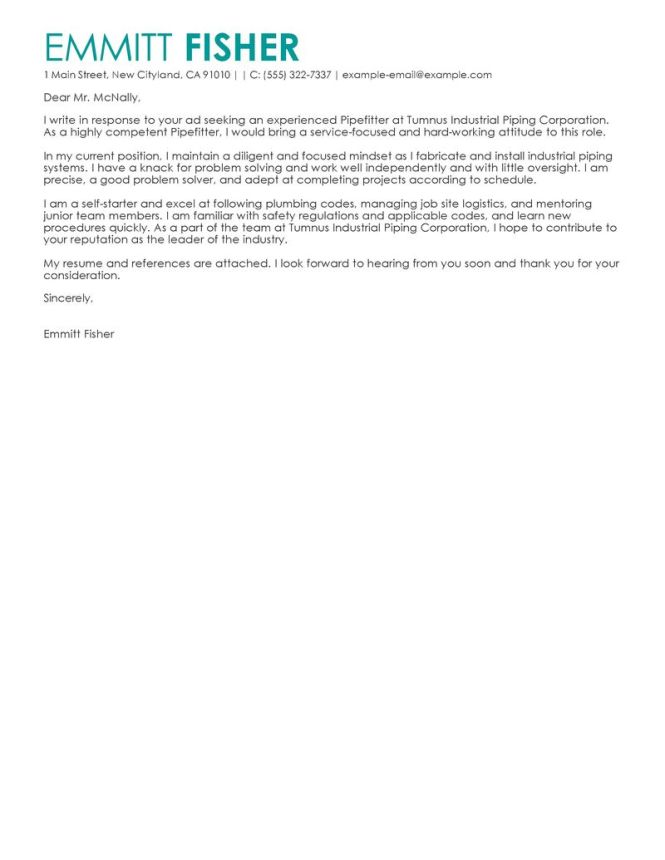 Cover Letter Exle Casey Amore