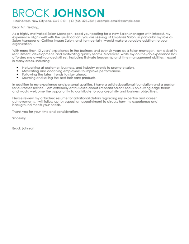 Covering Letter Exle For Receptionist