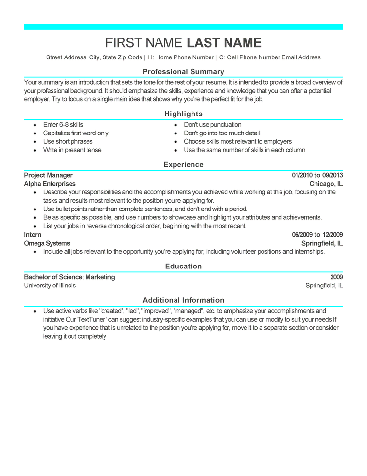 Modern 6 Resume Templates To Impress Any Employer LiveCareer
