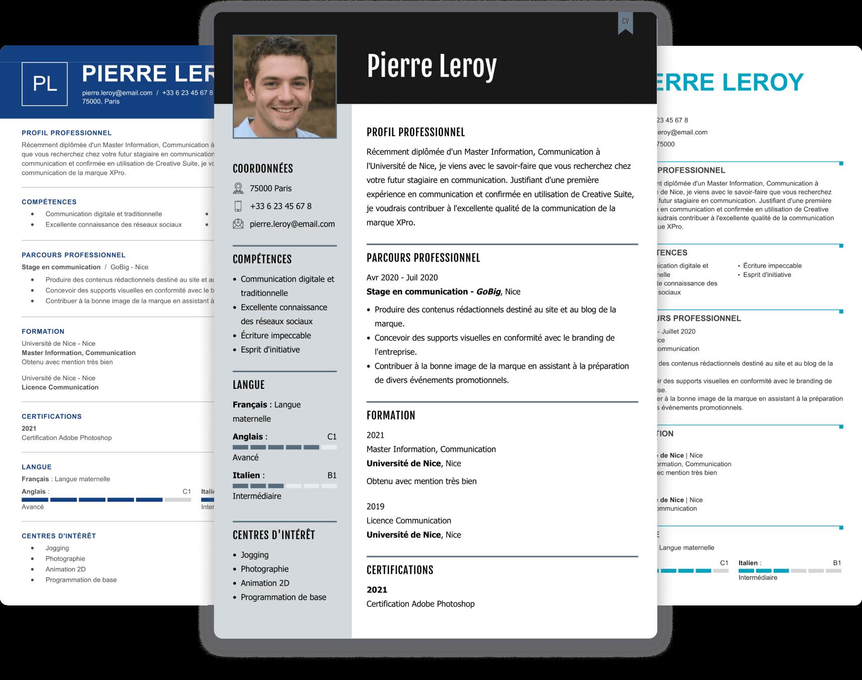 Exemple De Cv Agent De Securite Pour Hotel Exemples Modeles De Cv