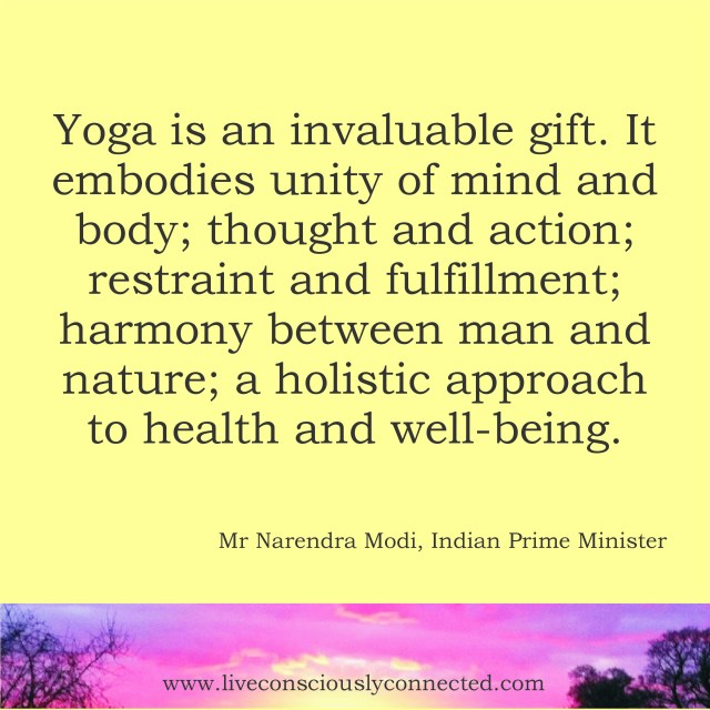 Yoga is an invaluable gift