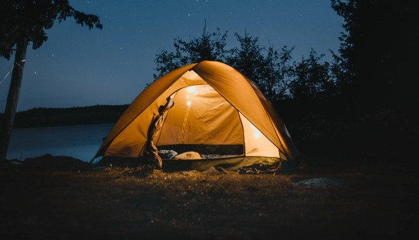How to Sleep as well as Possible in a Tent or Campervan