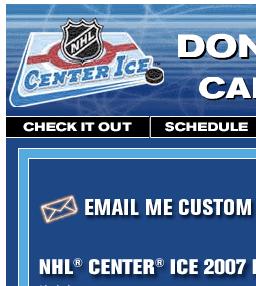 Center Ice screenshot