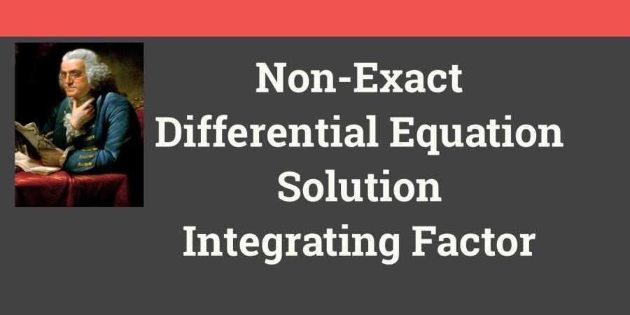 Integrating Factor