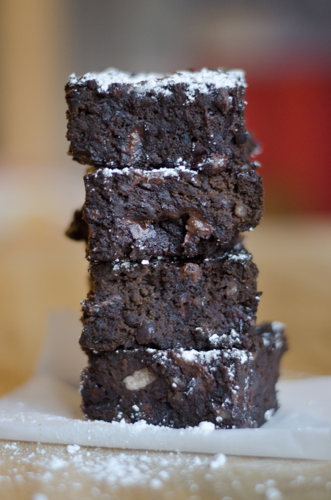 Black Bean Fudge Brownies