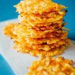 Gouda Cheese Crisps with Carrot