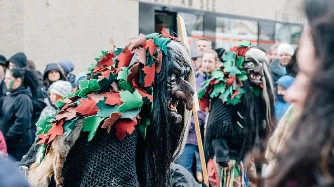 Celebrating Fasching in Stuttgart