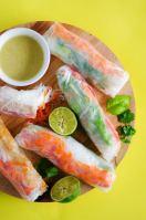 Thai Green Curry Spring Rolls