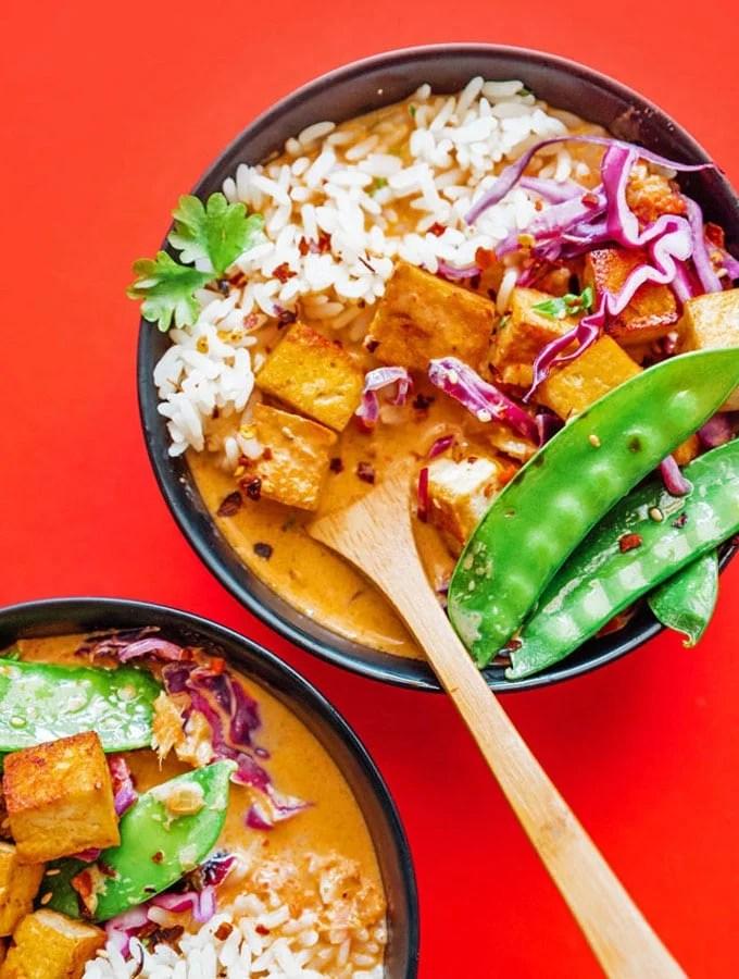 Thai Vegetarian Coconut Curry