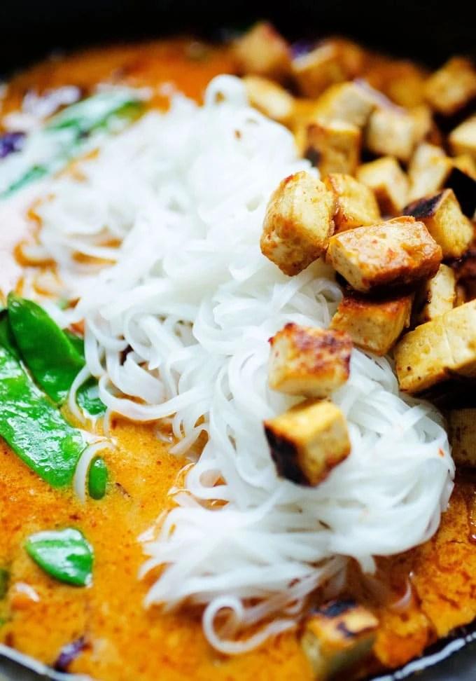 Weeknight Vegetarian Coconut Curry