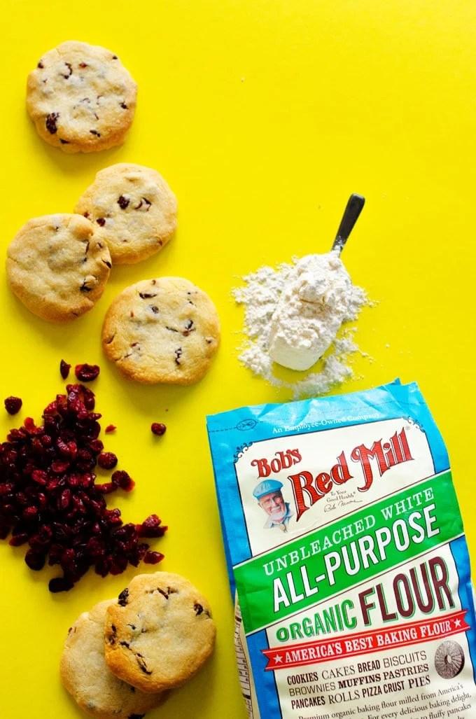 Berry Baked Alaska Cookies