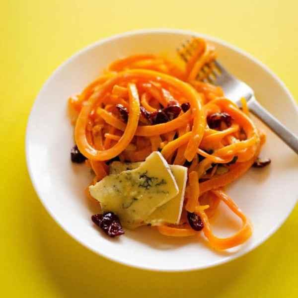 Butternut Squash Pasta with Gorgonzola Cream Sauce