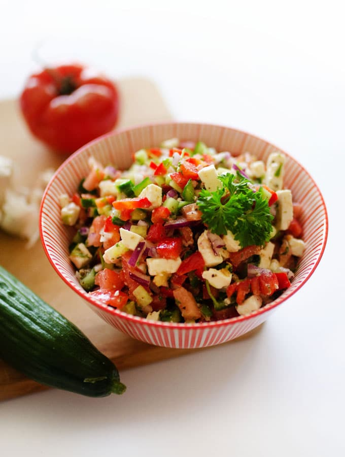 13. Summer Veggie Salad