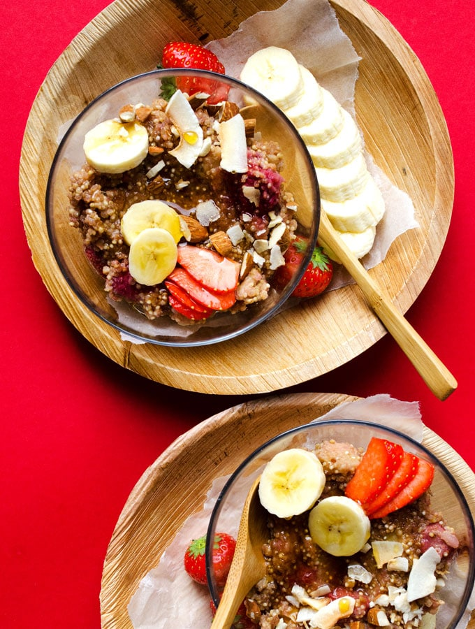 Overnight Quinoa Breakfast Porridge