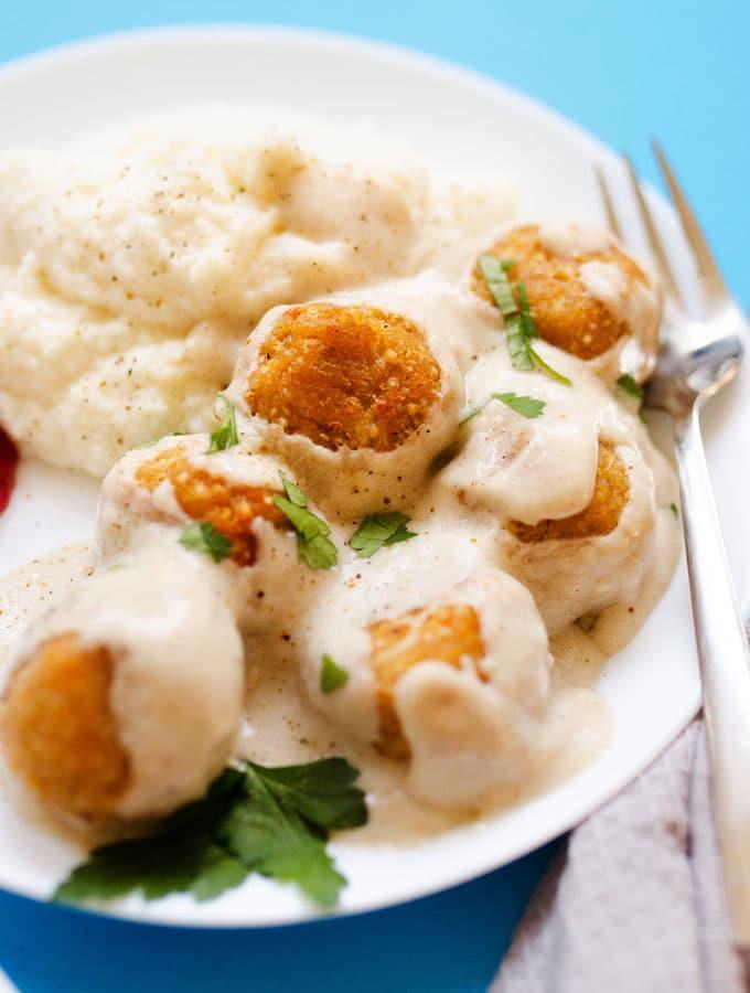 17. Swedish Vegetarian Meatballs